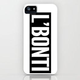 The L'BONTI iPhone Case
