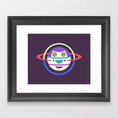 Spaceman 2 Framed Art Print