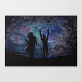 Look at the stars... (Harry Styles and Louis Tomlinson) Canvas Print