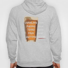 Quitting is Unacceptable Hoody