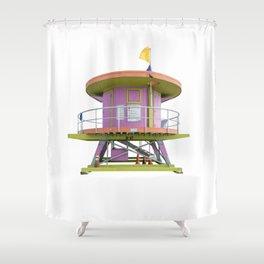 Lifesaver 001 Shower Curtain