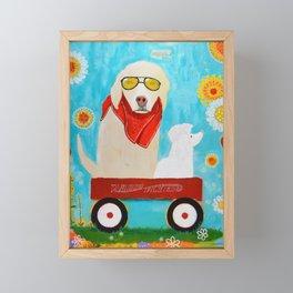 """Friendship"" Framed Mini Art Print"