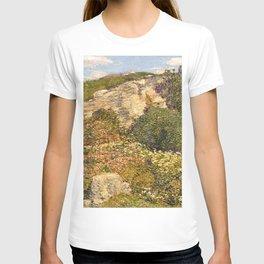 Childe Hassam - Laurel in the Ledges T-shirt