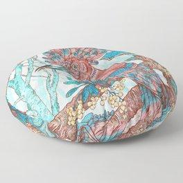 River Hoopoe Floor Pillow