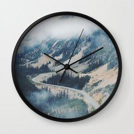 Mountain Loops Wall Clock