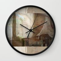 tote bag Wall Clocks featuring Barcelona Dreaming Tote Bag by Irina D. Stanciu