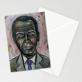 Black Jeff Koons (oil on canvas) Stationery Cards