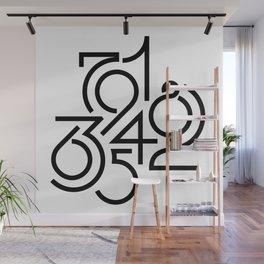 Numeric Wall Mural