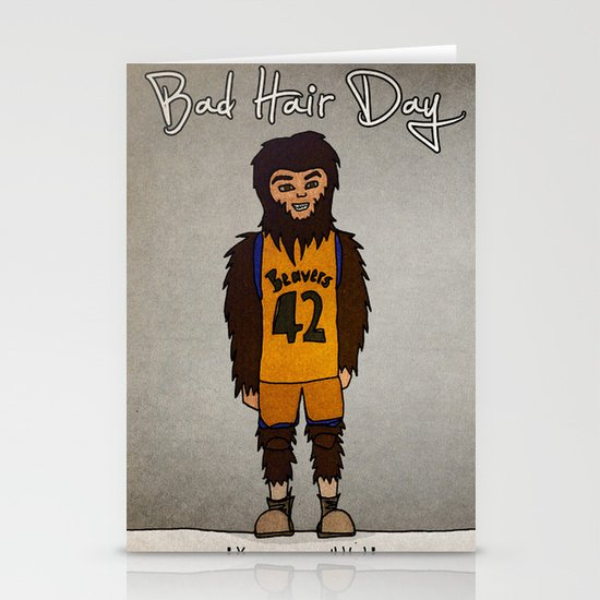 bad hair day no:2 / Teen Wolf Stationery Cards