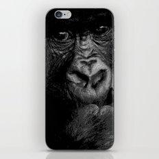 Silver Back iPhone & iPod Skin