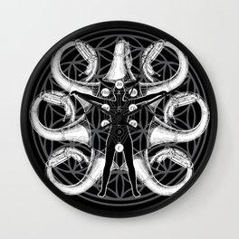 Tuba Bath Mandala Wall Clock