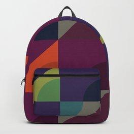 Geometric triangular pattern Backpack