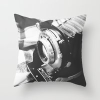 old school Throw Pillows featuring Old school  by Olivier P.