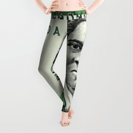 Proposed African American Icon Harriet Tubman Single U.S. Mint 20 Dollar bill Leggings