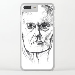 Grandpa Clear iPhone Case