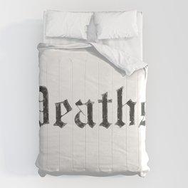 Deaths Muertes смертей Todesfälle Morts Comforters
