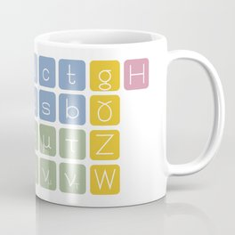 Elementary Particles Coffee Mug
