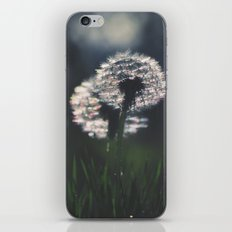 whispers in the wind iPhone Skin