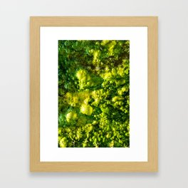 The Green Goo Framed Art Print
