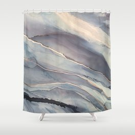 Fluidity VII Shower Curtain