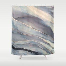 Fluidity VII Shower Curtain