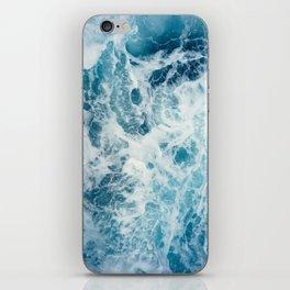 Rough Sea - Ocean Photography iPhone Skin