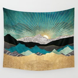 Peacock Vista Wall Tapestry