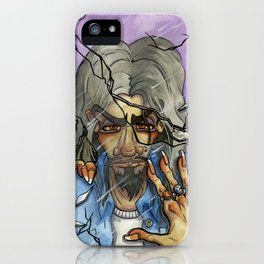 Man in the Mirror iPhone Case