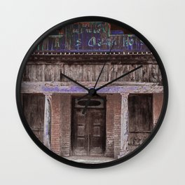 The Old Pino Altos Opera House Wall Clock