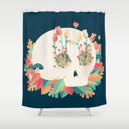 Life & Decay Shower Curtain