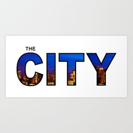 The City - Version 4 Art Print