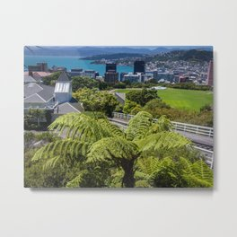 Wellington Cityscape Metal Print