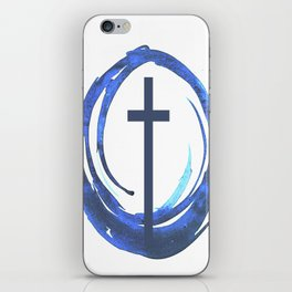 Circle Of Life - Cross iPhone Skin