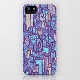 night city iPhone Case