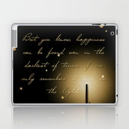 Happiness Can Be Found Laptop & iPad Skin