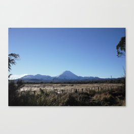 Tongariro Canvas Print