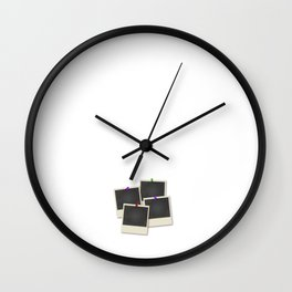 Class of 2017 Off to Capture Memories Photography Wall Clock