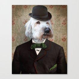 Sir Kansas - Wheaten Terrier Canvas Print