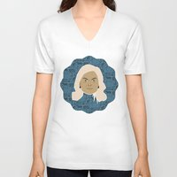 leslie knope V-neck T-shirts featuring Leslie Knope - Parks and recreation by Kuki