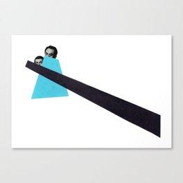 Last glance Canvas Print