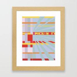 Muted Framed Art Print