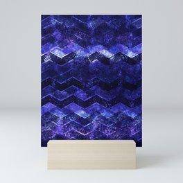 Glitter Waves III Mini Art Print
