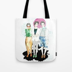 Sometimes We Leave The Bubble Tote Bag