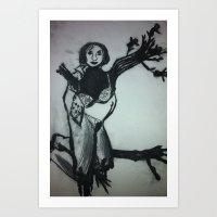 HeShe Art Print