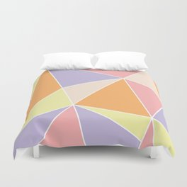 Candy Triangles Duvet Cover