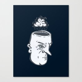 Rain Brain Canvas Print
