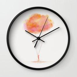 Melancholy Boy Wall Clock