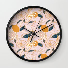Southern Summer Wall Clock