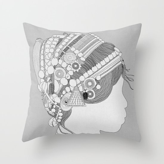 A TRIBE CALLED WOMEN Throw Pillow