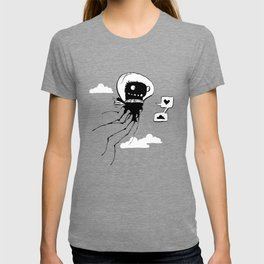 Flying squid – Seppiolina volante T-shirt